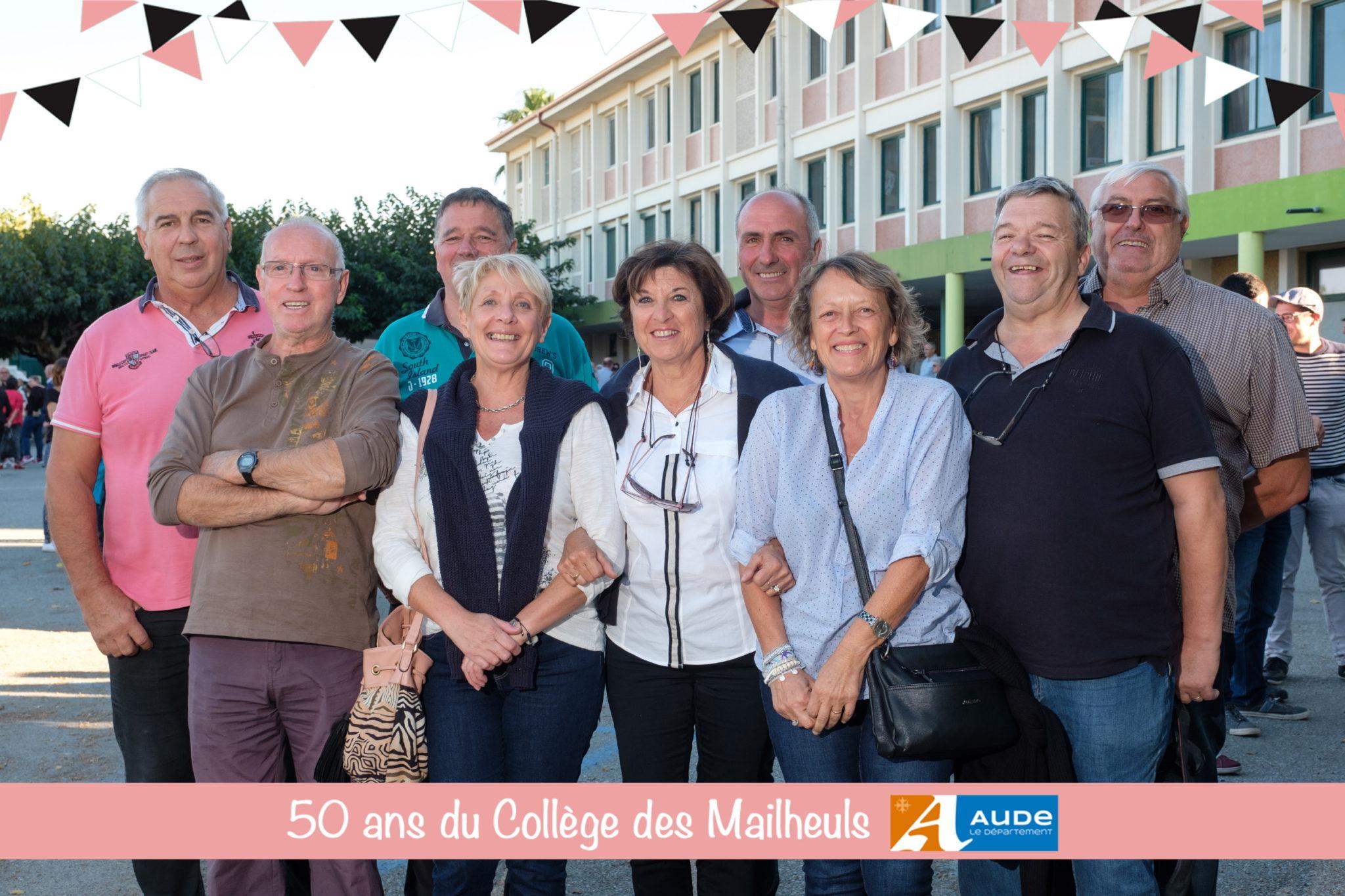 50 ans du College Les Mailheuls