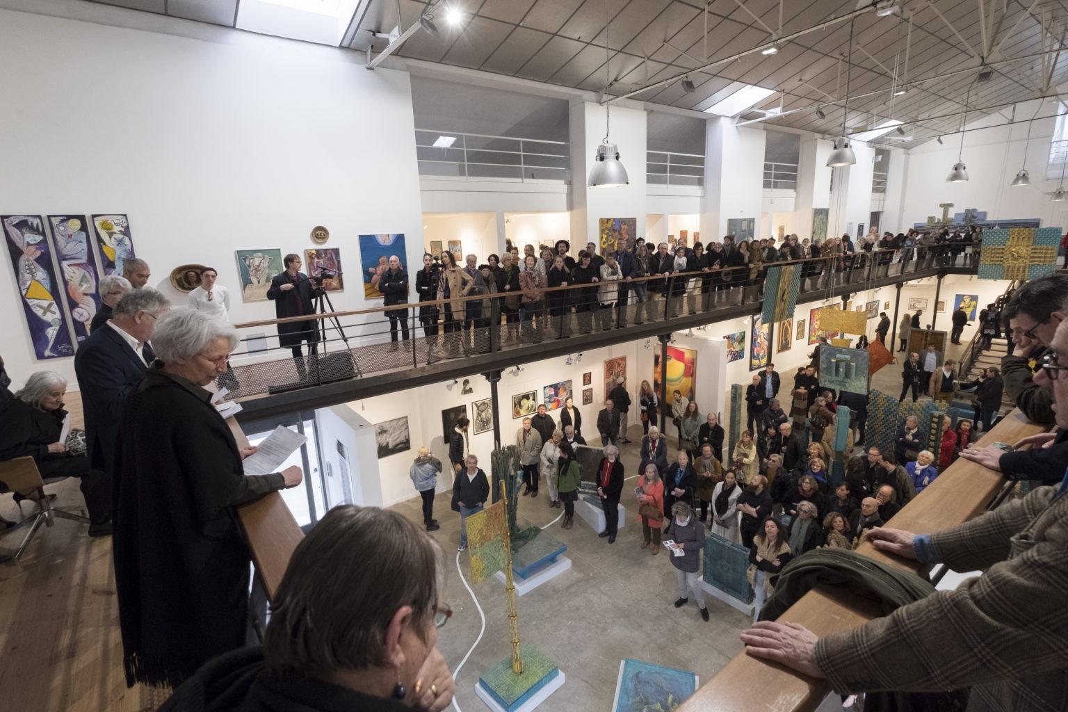 Vernissage Exposition Ceres Franco - ©Alain Machelidon