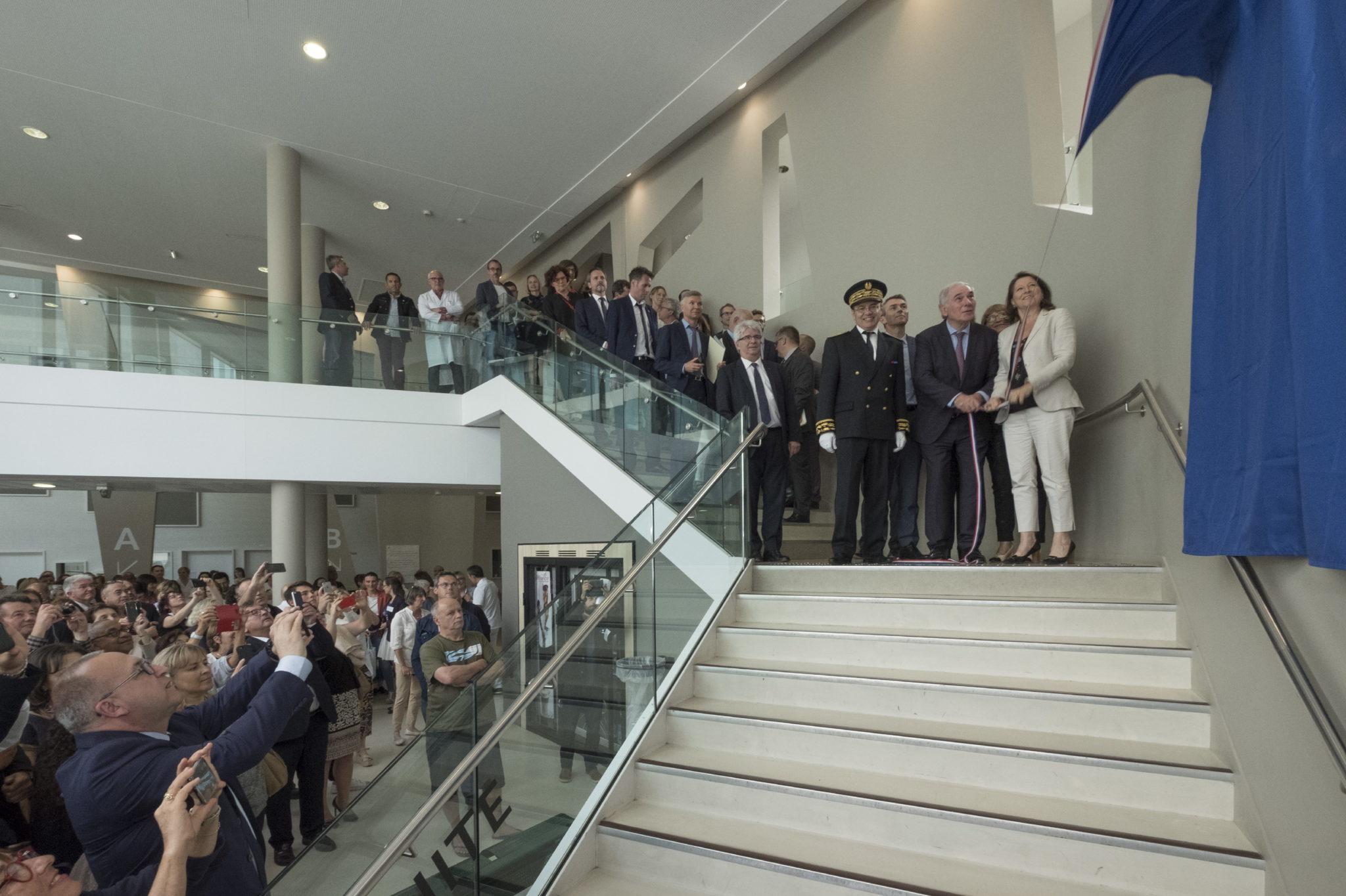 Inauguration Centre Hospitalier