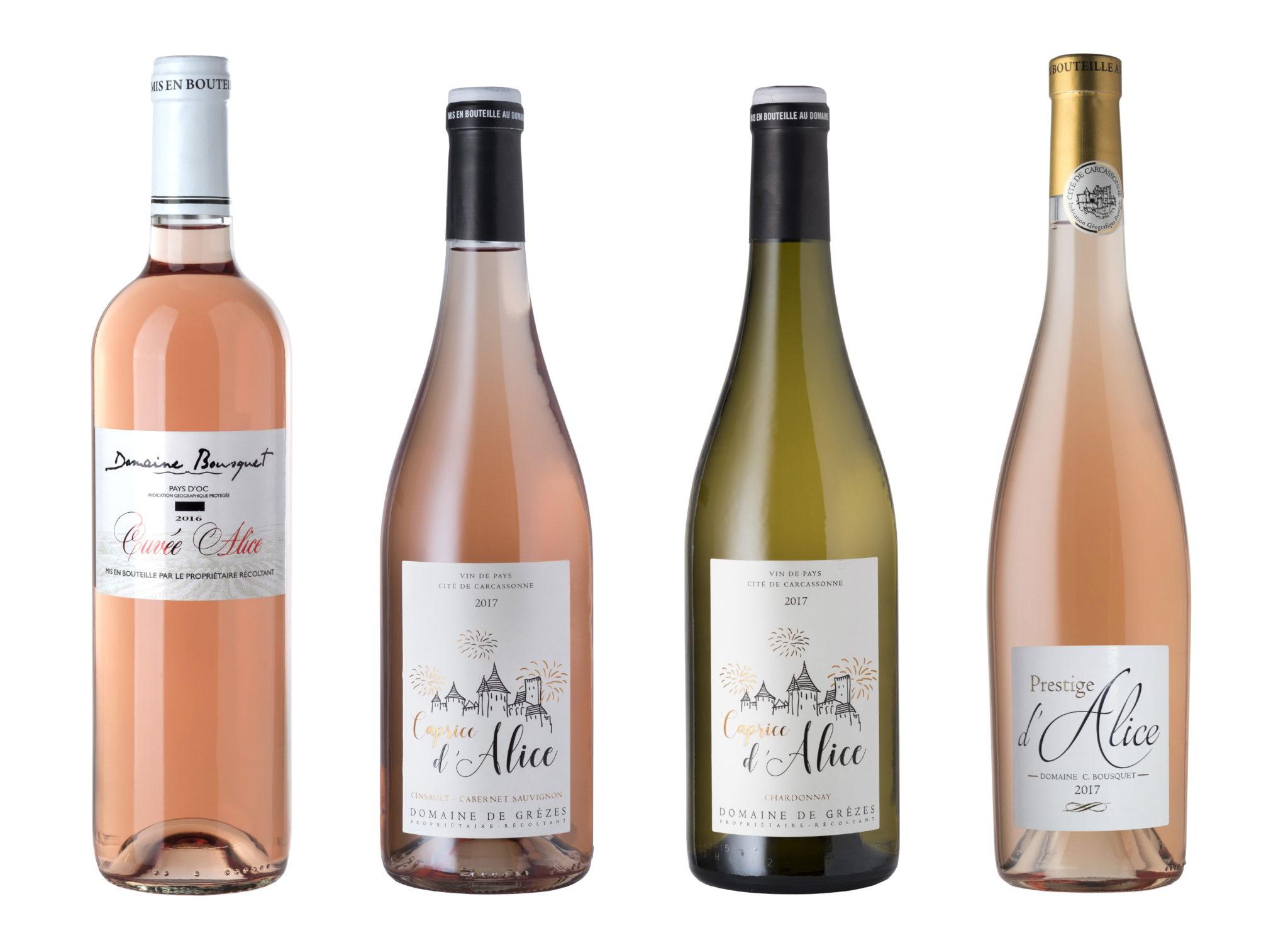 Prestige d'Alice Rosé - Domaine de Grezes - Vin de Pays de la Cite de Carcassonne