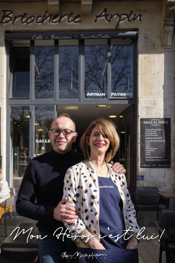Pascale et Jean-Luc Arpin - Briocherie Arpin